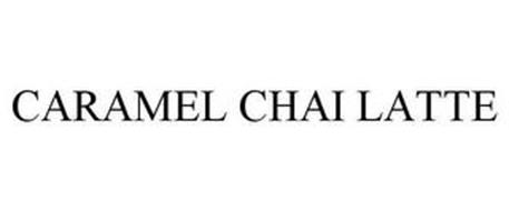 CARAMEL CHAI LATTE