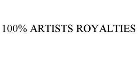 100% ARTISTS ROYALTIES