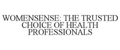 WOMENSENSE: THE TRUSTED CHOICE OF HEALTH PROFESSIONALS