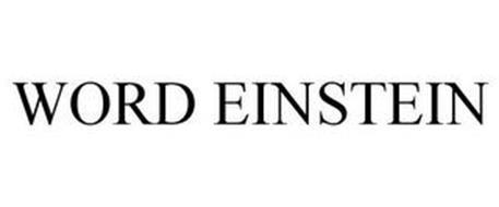 WORD EINSTEIN