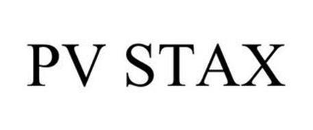 PV STAX