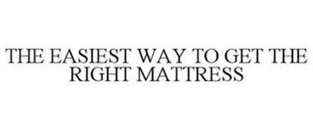 THE EASIEST WAY TO GET THE RIGHT MATTRESS