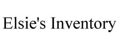 ELSIE'S INVENTORY