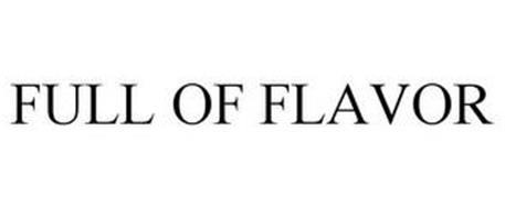 FULL OF FLAVOR