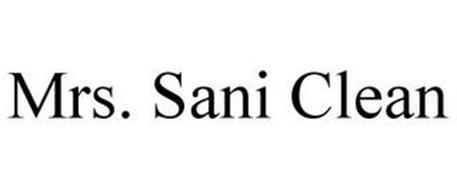 MRS. SANI CLEAN