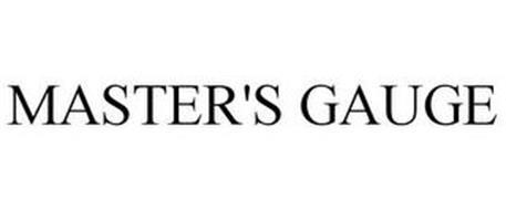 MASTER'S GAUGE