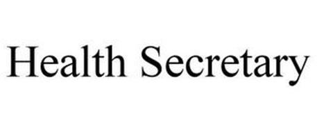 HEALTH SECRETARY