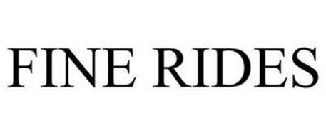 FINE RIDES