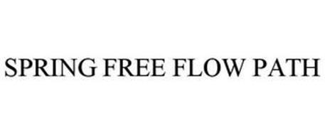 SPRING FREE FLOW PATH