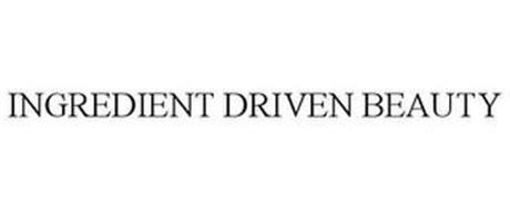 INGREDIENT DRIVEN BEAUTY