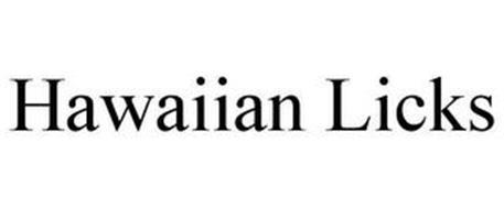 HAWAIIAN LICKS