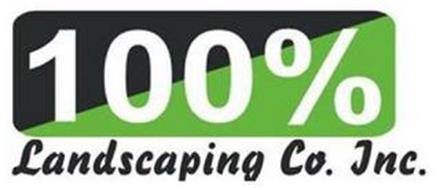 100% LANDSCAPING CO. INC.
