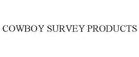 COWBOY SURVEY PRODUCTS