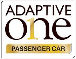 ADAPTIVE ONE 1 PASSENGER CAR