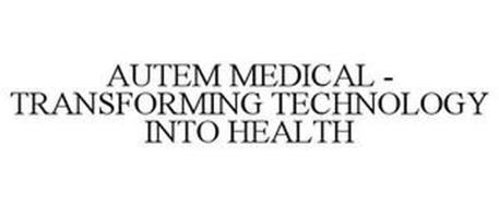 AUTEM MEDICAL - TRANSFORMING TECHNOLOGY INTO HEALTH