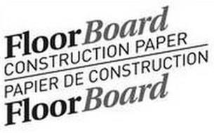 FLOOR BOARD CONSTRUCTION PAPER PAPIER DE CONSTRUCTION FLOOR BOARD