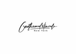 GEOTHERMAL MINERALS NEW YORK