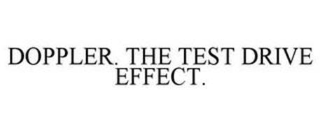 DOPPLER THE TEST DRIVE EFFECT
