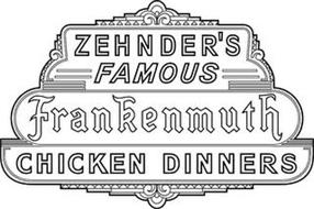 ZEHNDER'S FAMOUS FRANKENMUTH CHICKEN DINNERS