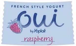 FRENCH STYLE YOGURT OUI BY YOPLAIT RASPBERRY