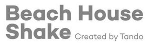 BEACH HOUSE SHAKE CREATED BY TANDO