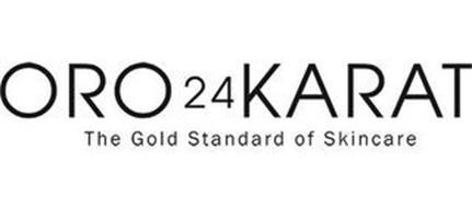 ORO 24 KARAT THE GOLD STANDARD OF SKINCARE