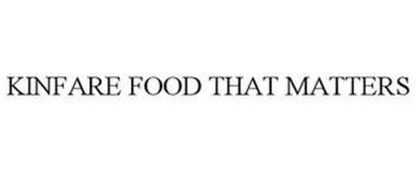KINFARE FOOD THAT MATTERS