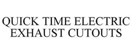 QUICK TIME ELECTRIC EXHAUST CUTOUTS