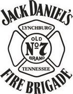 JACK DANIEL'S LYNCHBURG OLD NO 7 TENNESSEE FIRE BRIGADE