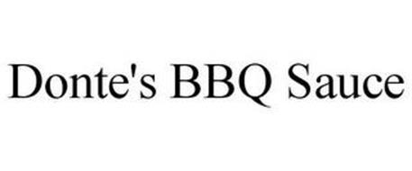 DONTE'S BBQ SAUCE