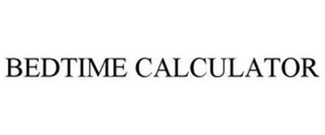BEDTIME CALCULATOR