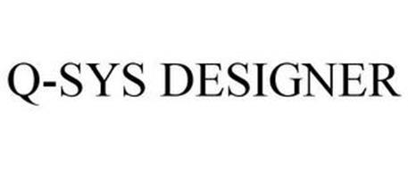 Q-SYS DESIGNER