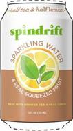 SPINDRIFT HALF TEA & HALF LEMON UNSWEETENED SPARKLING WATER & REAL SQUEEZED FRUIT MADE WITH BREWED TEA & REAL LEMON