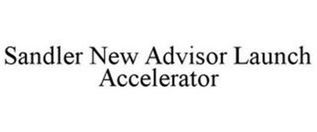SANDLER NEW ADVISOR LAUNCH ACCELERATOR