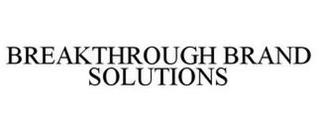 BREAKTHROUGH BRAND SOLUTIONS
