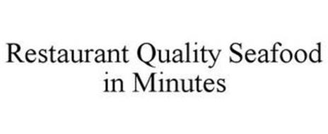 RESTAURANT QUALITY SEAFOOD IN MINUTES