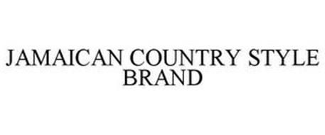 JAMAICAN COUNTRY STYLE BRAND