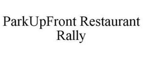 PARKUPFRONT RESTAURANT RALLY