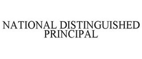 NATIONAL DISTINGUISHED PRINCIPAL