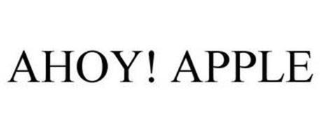 AHOY! APPLE