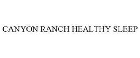 CANYON RANCH HEALTHY SLEEP