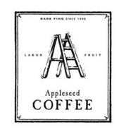 APPLESEED COFFEE SINCE 1998 LABOR FRUIT