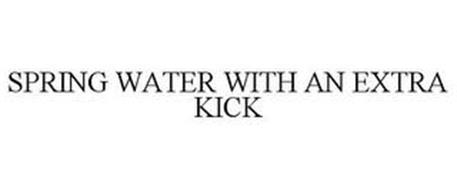SPRING WATER WITH AN EXTRA KICK