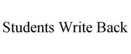 STUDENTS WRITE BACK