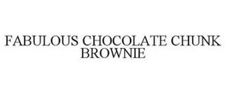 FABULOUS CHOCOLATE CHUNK BROWNIE