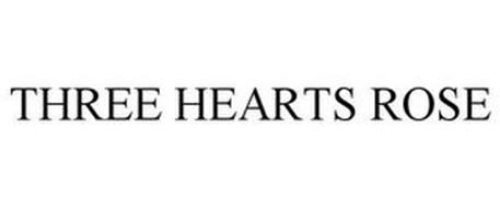THREE HEARTS ROSE