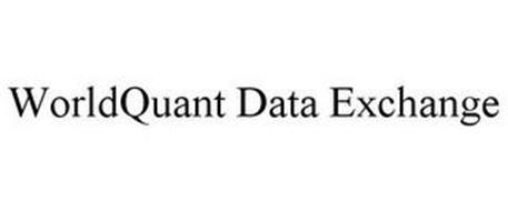 WORLDQUANT DATA EXCHANGE