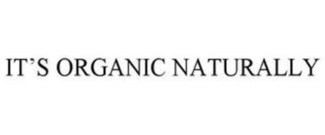 IT'S ORGANIC NATURALLY