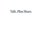 TALK.PLAN.SHARE.
