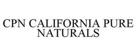 CPN CALIFORNIA PURE NATURALS